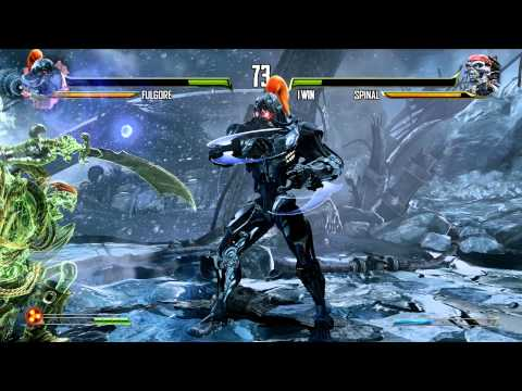 (60fps) Killer Instinct - Fulgore vs Spinal Gameplay   Xbox One (1080p)