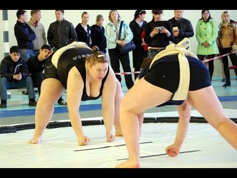 Woman Sumo 2015 world cup best moment