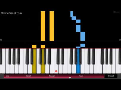 Jonas Blue - Mama - EASY Piano Tutorial