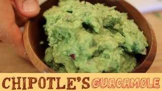 Chipotle's Creamy Guacamole Recipe - Glorious Trick To Open Avocado without a Knife