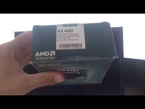 Unlocking AMD Athlon II x3 450 CPU to AMD Phenom II x4 B50