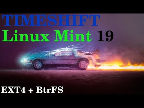 Linux Mint 19 | Timeshift Einrichtung