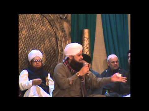 Owais Raza Qadri At Nottingham Mehfil-e-naat 2015 video