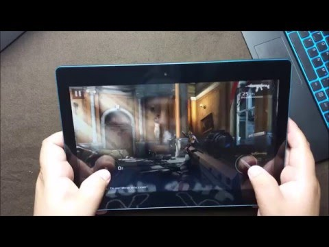 Micromax Canvas Laptab 2 LT777 Gaming Test