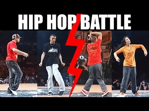 Hip Hop Dance Popping Battle : Salah & Pepito Vs. Nelson & Dey Dey video
