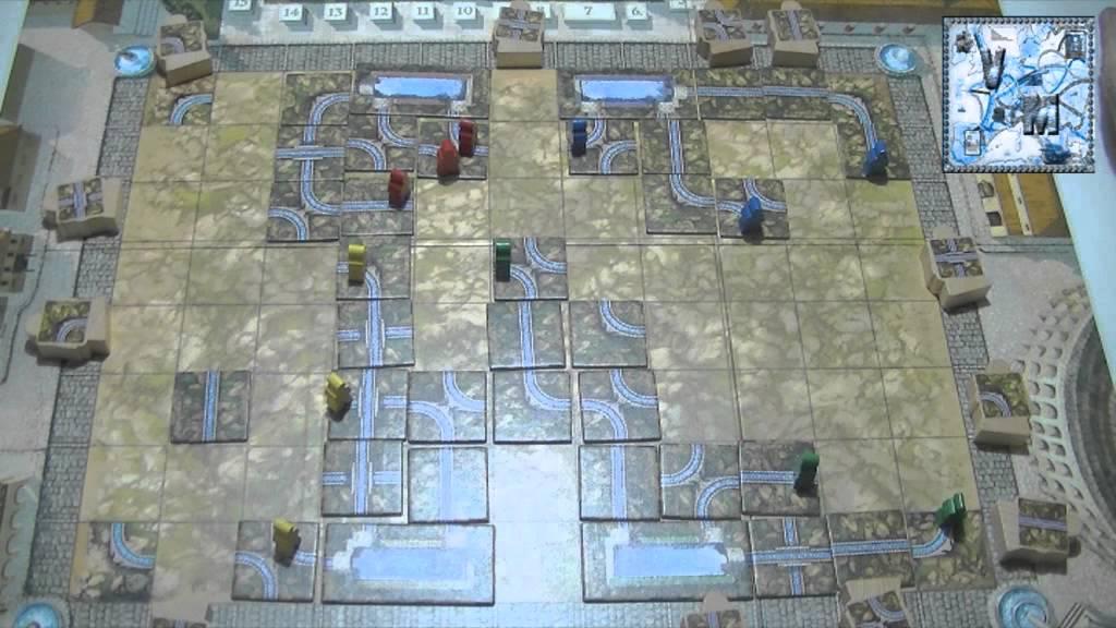 Aqua romana juego de mesa gameplay youtube for Viciados de mesa