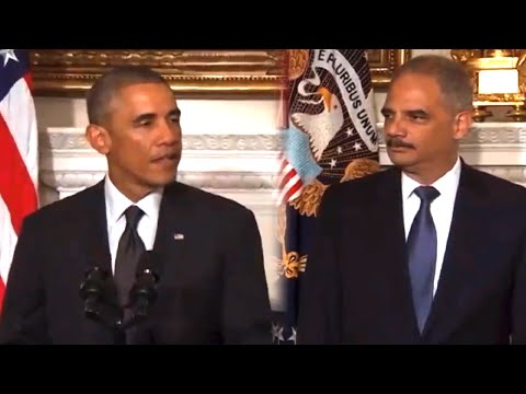 Eric Holder Resigns, Obama Loses Long-Serving Ally