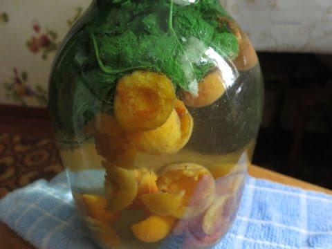 Компот на зиму из абрикос и мяты!!! Очень просто и необыкновенно вкусно!!!