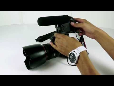 Monoprice Shotgun Microphone for DSLR Video Cameras