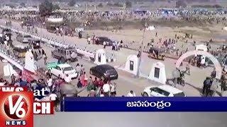 1 PM Headlines   Harish Rao Kaleshwaram Tour   Pawan Kalyan   Medaram Jatara