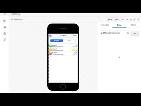 Oracle MCS - Mobile Application Accelerator (MAX) Demo