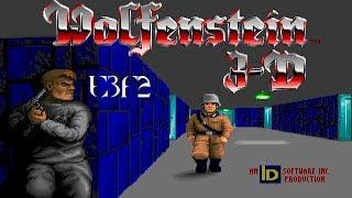 Wolfenstein 3D (DOS) Episode 3: Die, Fuhrer, Die - Floor 2