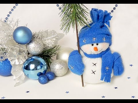 Поделка снегурочка своими руками из колготок