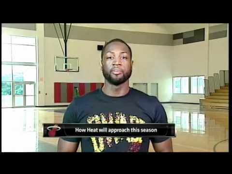 December 07, 2011 - ESPN - Dwyane Wade Interview Commenting on Upcoming Season, Lebron & Free Agency