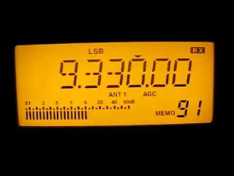 Radio Damascus 9330 kHz. 4.6.2011.