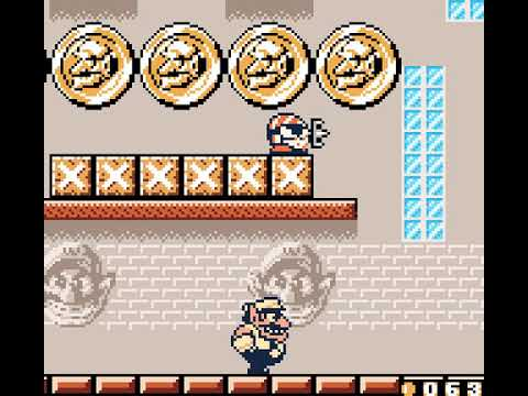 Wario Land II - 28 - defeat the giant spear man