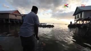 Cara Suku Bajo Kenalkan Laut pada Bayi