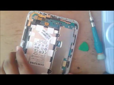 Cambio Lector De Sim Galaxy Tab 2 7.0 3G P3100  (Sim Card Reader Repair) 『Tecnomovil PZ』