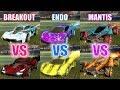 TOP 3 Car / Wheel / Decal / Boost Combinations | UNDER 10 KEYS | CAR WARS