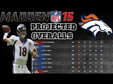Denver Broncos | Madden 15 Ratings