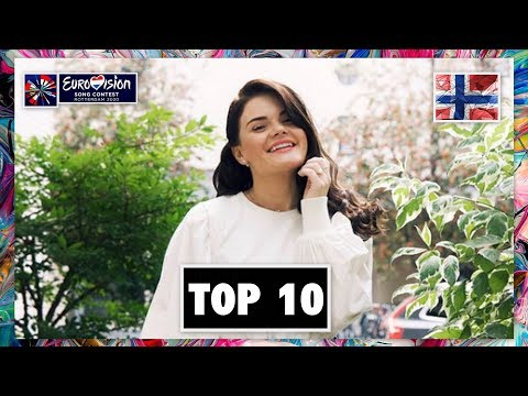 TOP 10 | MELODI GRAND PRIX 2020 - FINAL | EUROVISION 2020 NORWAY