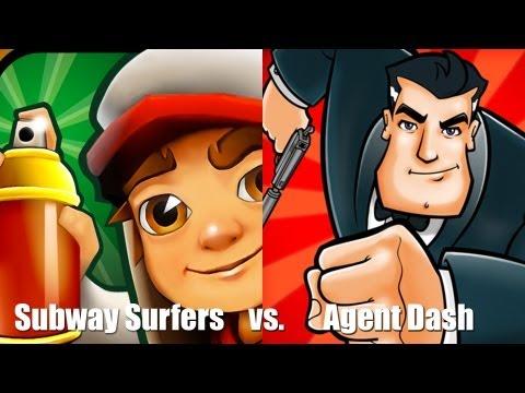 Раннер [Subway surfers vs. Agent Dash]