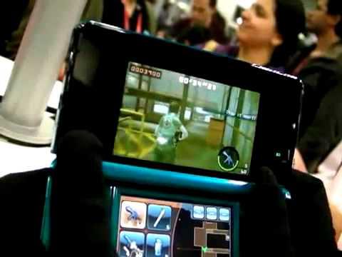 Gameplay Resident Evil The Mercenaries 3D Demo Captive 2011