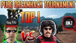 Shroud & DrDisrespect WIN DreamHack PUBG Tournament [Jun-2] Game 3 - PUBG HIGHLIGHTS TOP 1 #117