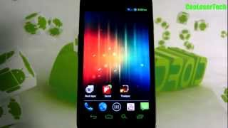 Codename Android - Custom Rom on Samsung Galaxy Nexus ICS - Hacks and Tweaks over stock