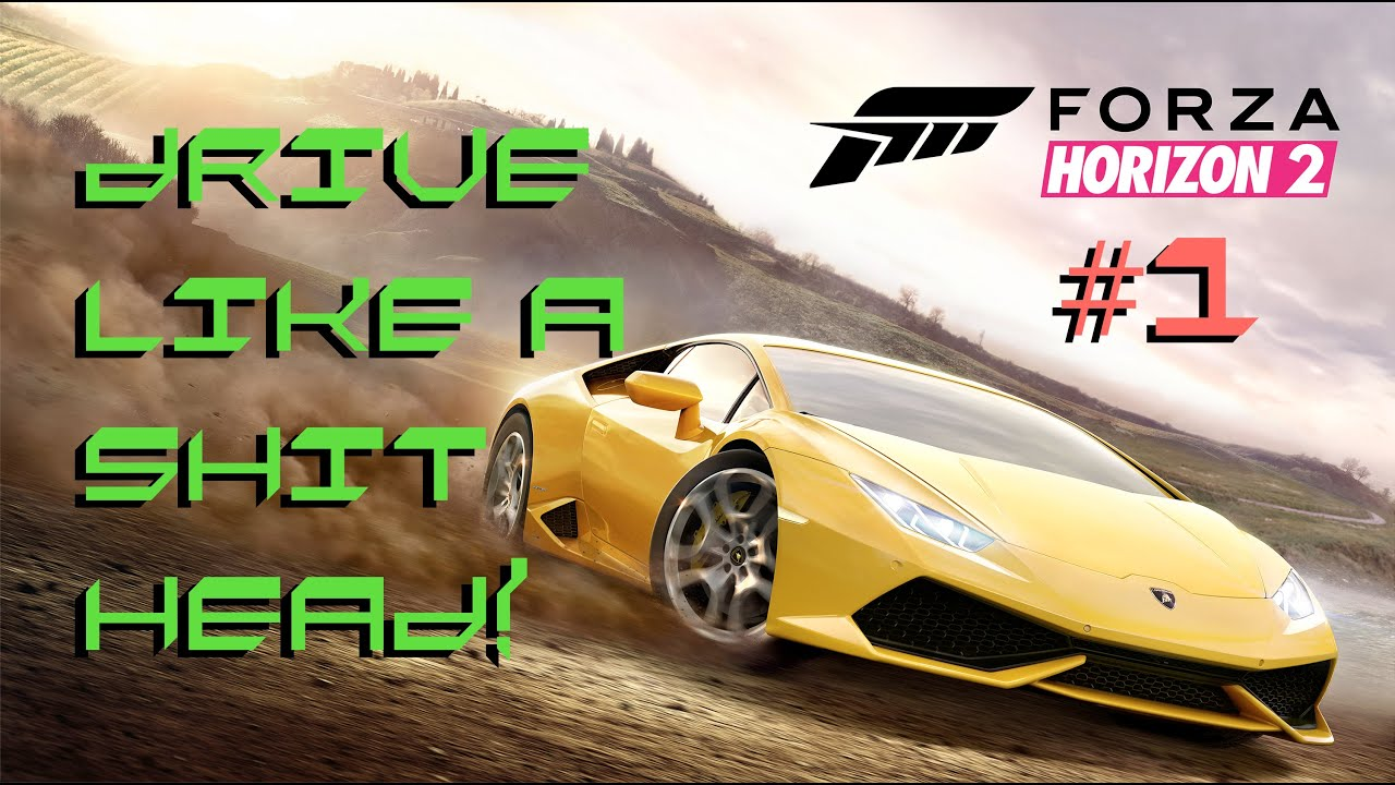 forza horizon 2 demo lamborghini huracan xbox one gameplay crazy driving bad driver crashes turn. Black Bedroom Furniture Sets. Home Design Ideas