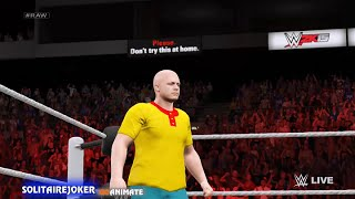 Caillou becomes a wrestler and gets dunked on