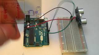 How To Use an Arduino with an Ultrasonic Sensor HC