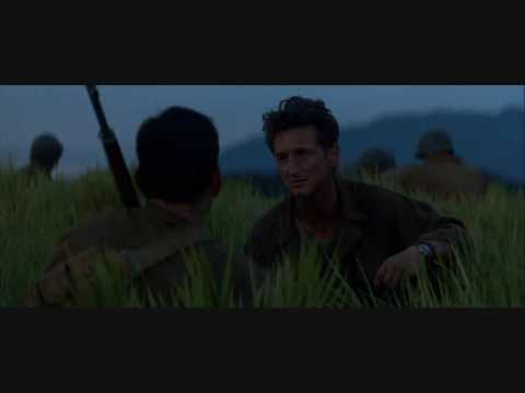 """""""The Thin Red Line"""" (1998, directed by Terrence Malick) is one of the most notable anti-war movies. Beside of being a moving story focused on personal tragedies of soldiers on both sides, it's..."""