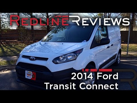 2014 Ford Transit Connect Review. Walkaround. Exhaust. & Test Drive