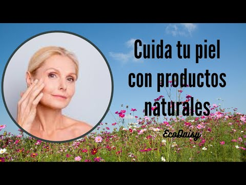 Limpia tu rostro con productos naturales. All natural skin care. ecodaisy