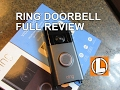 Ring Wi Fi Enabled Video Doorbell Review Unboxing Setup Installation Footage mp3