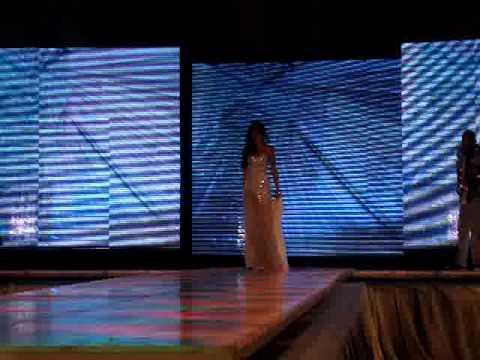 Miss Hnas Mirabal RNB 2011, Sally Aponte, Traje de Noche Preliminar