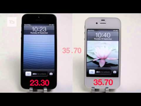 iPhone 5 Speed Test: iPhone 5 vs iPhone 4S speed tests