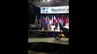 Premiazione Hungarian Baja 2014 - Prize Giving Hungarian Baja 2014