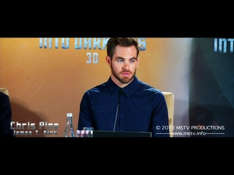 Star Trek: Into Darkness: Pressekonferenz Berlin (original language)
