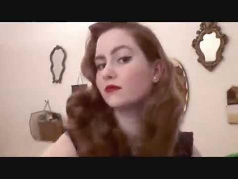 Lauren Bacall Hair (pincurl set)