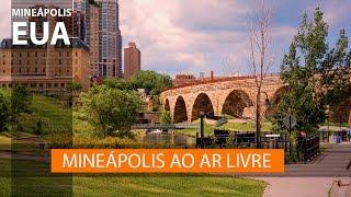 Mineápolis (ou Minneapolis) no verão - EUA