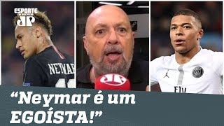 """""""É um EGOÍSTA!"""" Narrador DESABAFA e vê PSG melhor SEM Neymar!"""