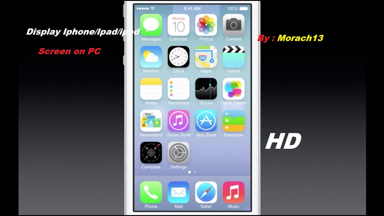 how to show iphone screen on tv without jailbreak