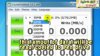 Windows Tip Test Your Pen Drive Speed Must Watch Full HD