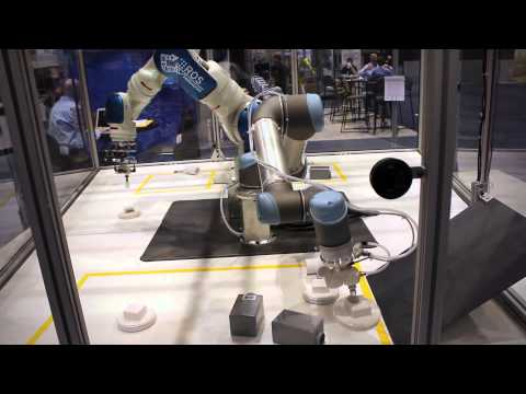 SwRI's ROS-Industrial Interoperability Demonstration at Automate 2013