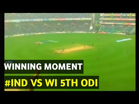 India vs west indies 5th odi highlights 2018 | Rohit sharma half century 63 vs west indies |indvswi|