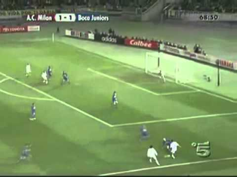 Boca Juniors vs Milan - Final Intercontinental 2003 (Partido Completo)