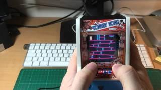 Mini Arcade Machine Donkey Kong Jr.