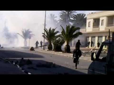 اطلاق النار  شباب سوق الجمعة تاجوراء الجمعة 25 2 2011